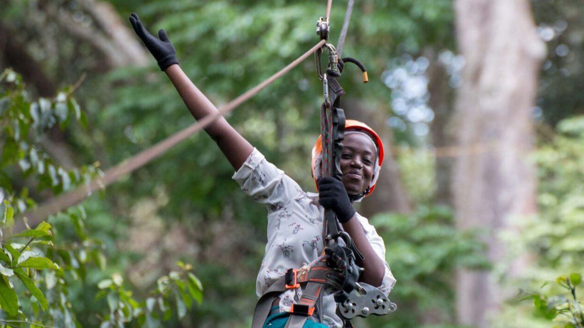 Mabira Forest zipline tour and birding safari
